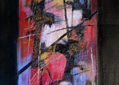 SOLD...2005, Vetrata n°3 40x80