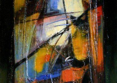2006, Vetrata n°5 40x80