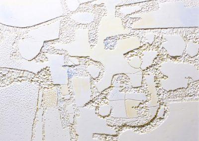 2017 Non solo Bianco cm.60x60 tecnica mista su polystyrene