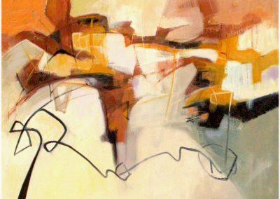 2001, Il viaggio 100x80